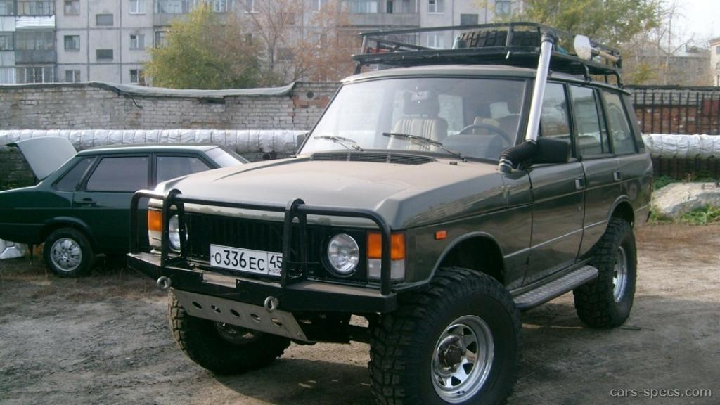 Land Rover Range Rover 3.9 1992 photo - 8