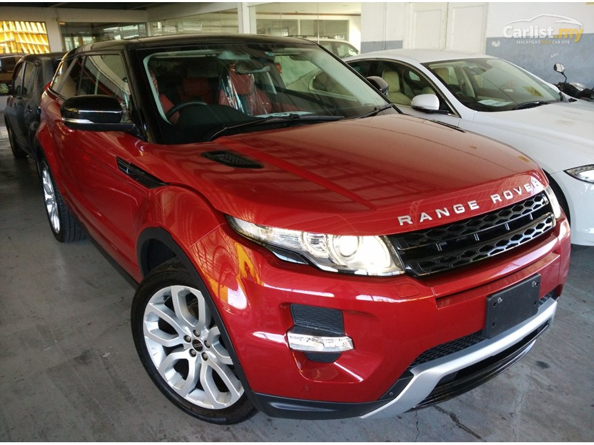 range rover evoque specifications pdf