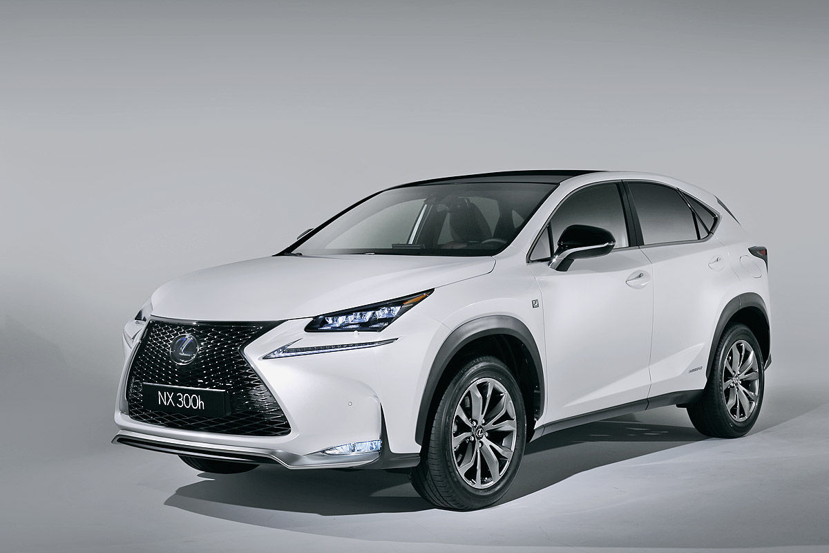 Lexus NX 300h 2014 photo - 11