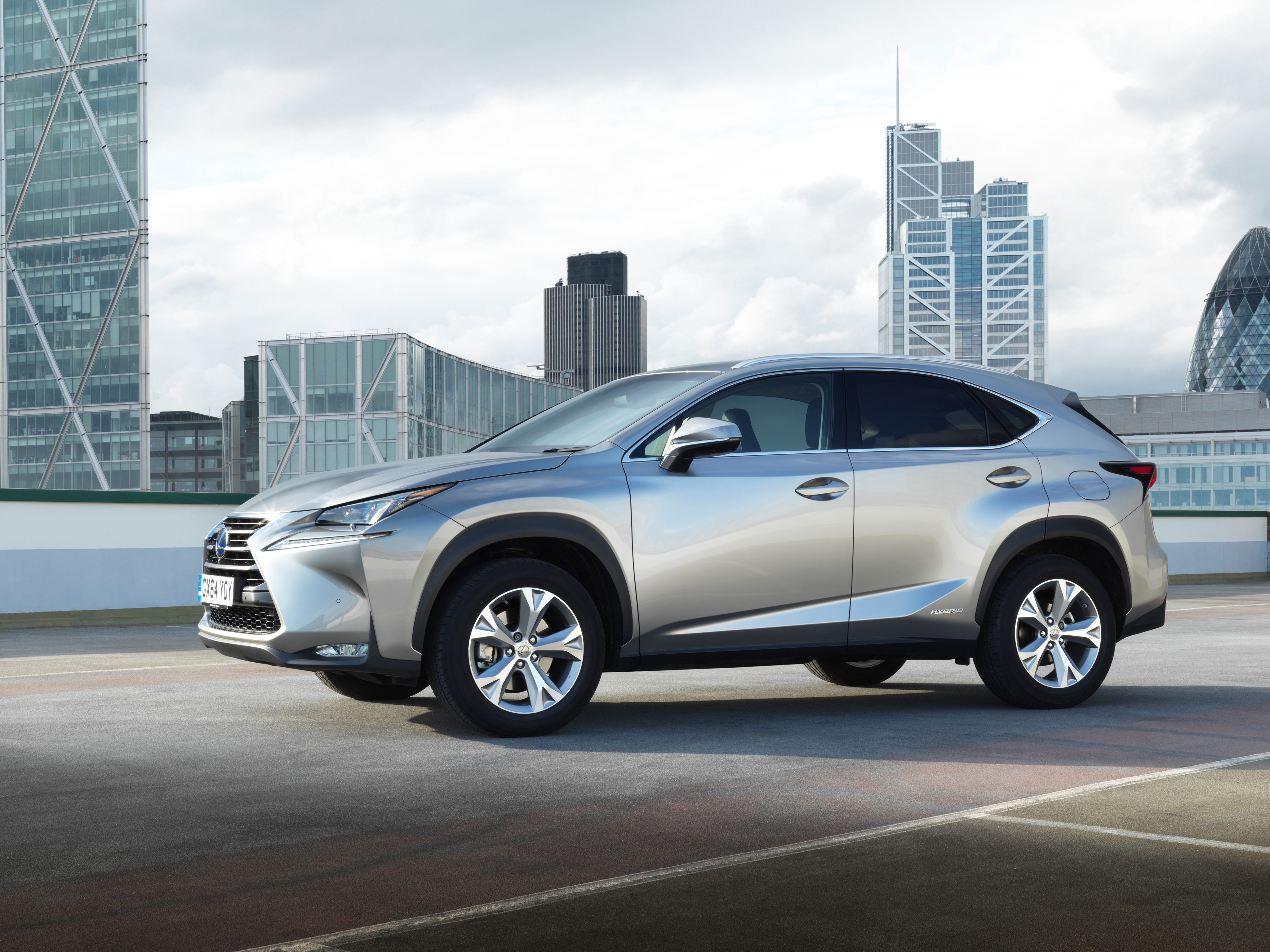 Lexus NX 300h 2014 photo - 12