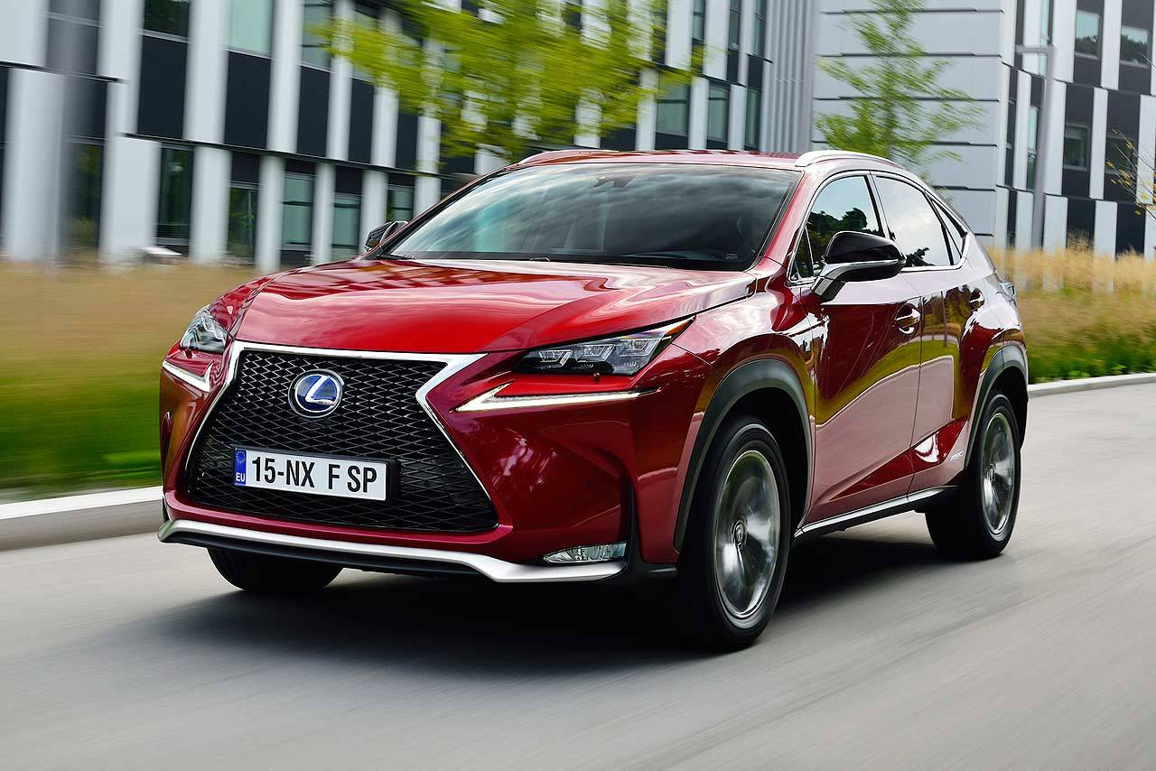Lexus NX 300h 2014 photo - 6