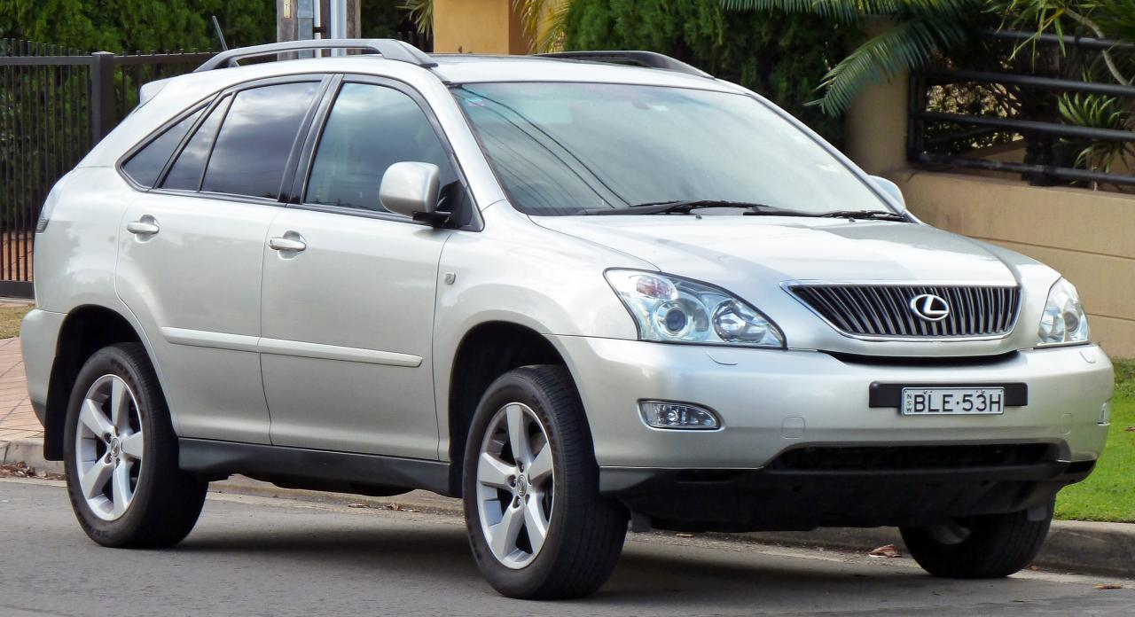 Lexus RX 330 2005 photo - 12