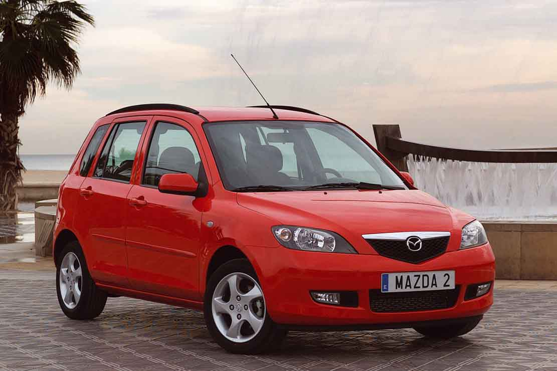 mazda 2 1.4 2005 technical specifications | interior and exterior