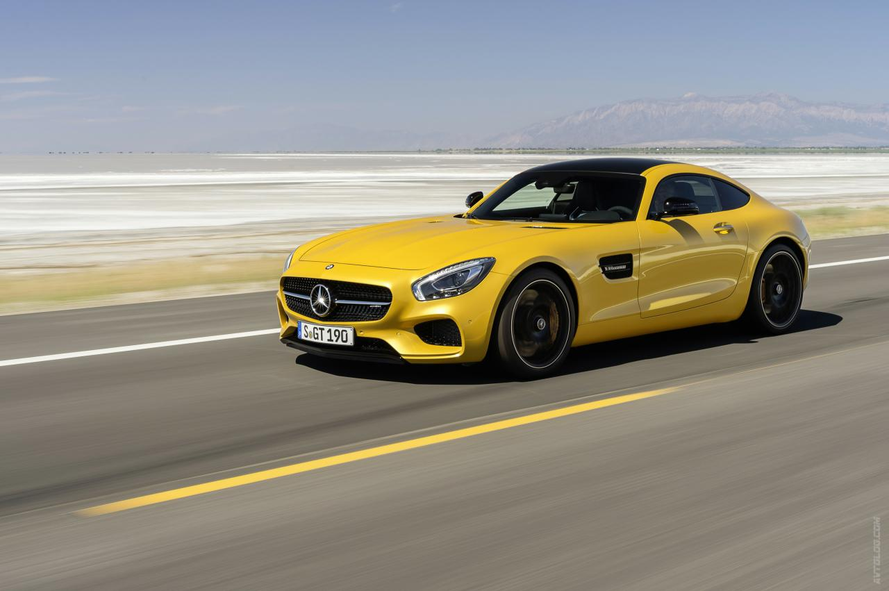Mercedes-Benz AMG GT S 2014 photo - 7