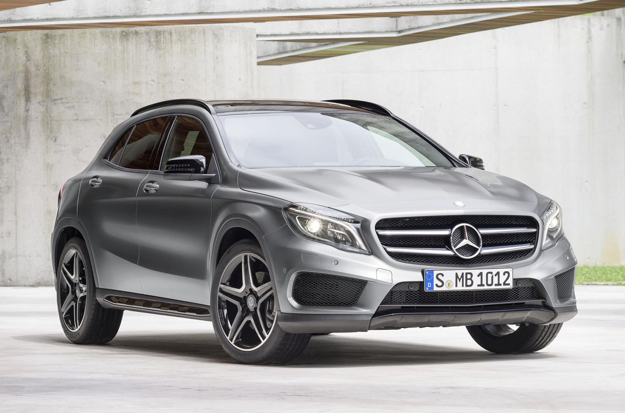 Mercedes-Benz GLA-Класс GLA 2014 photo - 4
