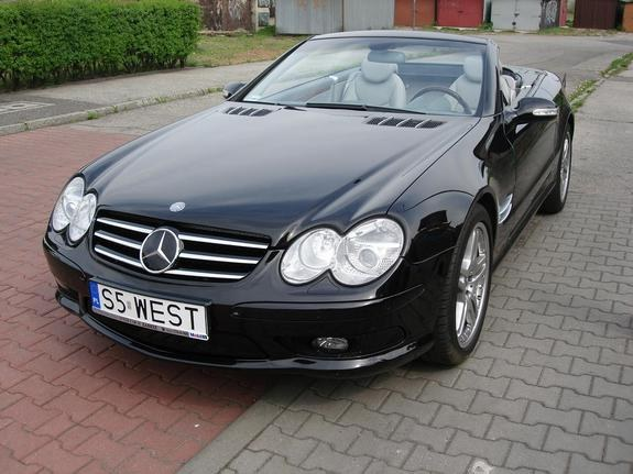 Mercedes-Benz SL-Класс SL 2002 photo - 11