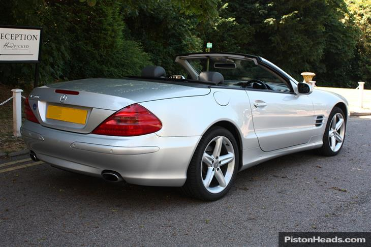 Mercedes-Benz SL-Класс SL 2002 photo - 12