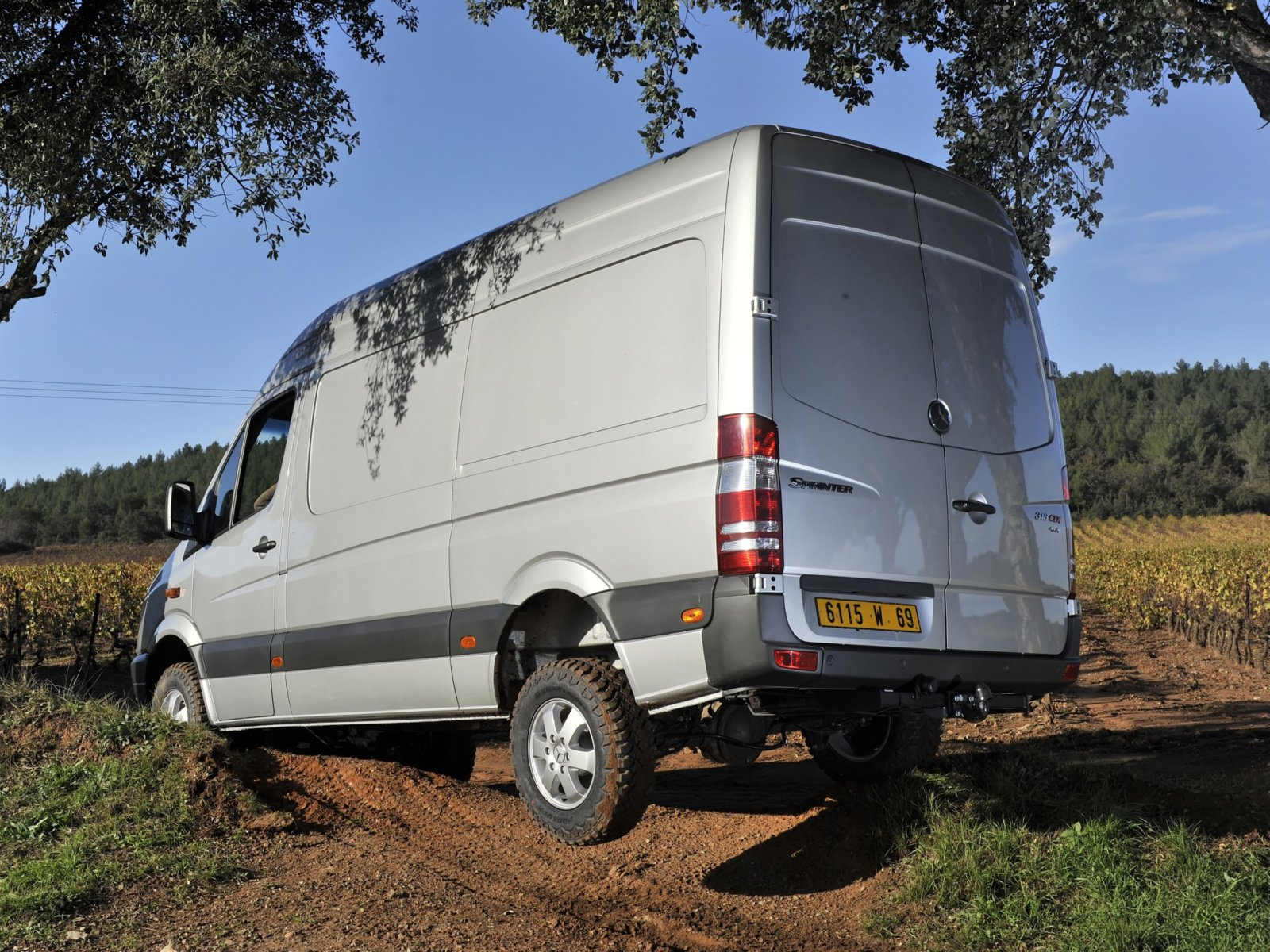 Mercedes-Benz Sprinter 310 2013 photo - 2