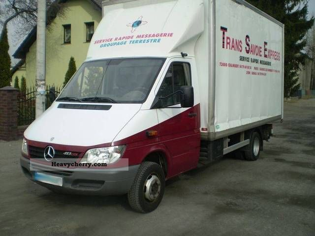 Mercedes-Benz Sprinter 413 2006 photo - 3