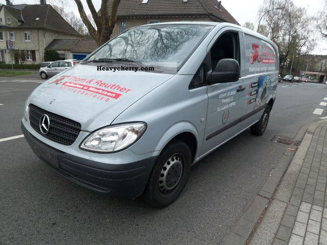 Mercedes-Benz Vito 109 2005 photo - 11