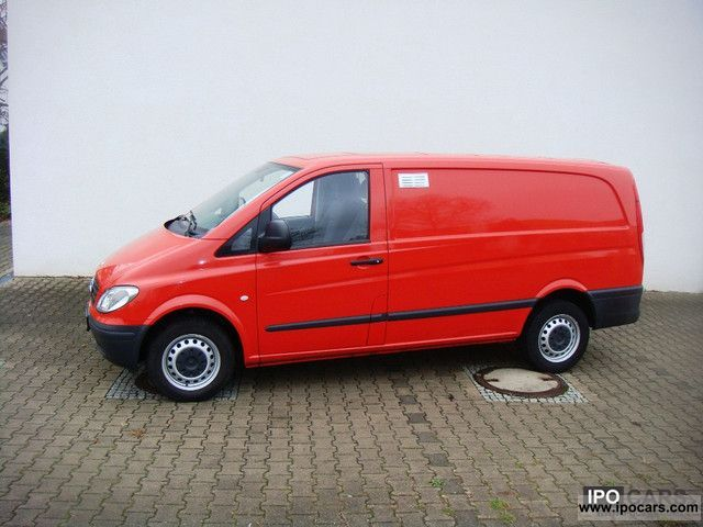 Mercedes-Benz Vito 109 2007 - Technical specifications