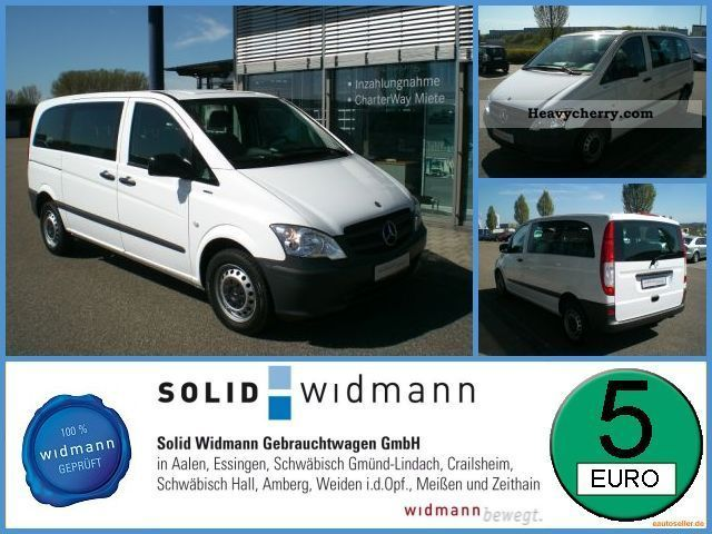 Mercedes-Benz Vito 110 2010 photo - 10