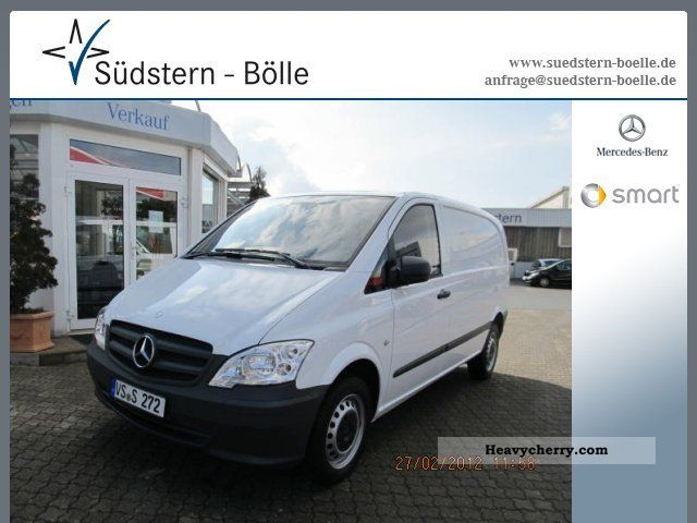 Mercedes-Benz Vito 110 2012 photo - 11