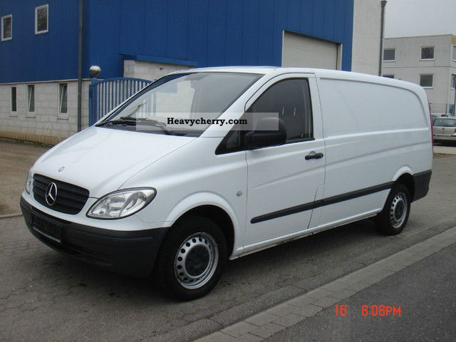 Mercedes-Benz Vito 111 2008 - Technical specifications