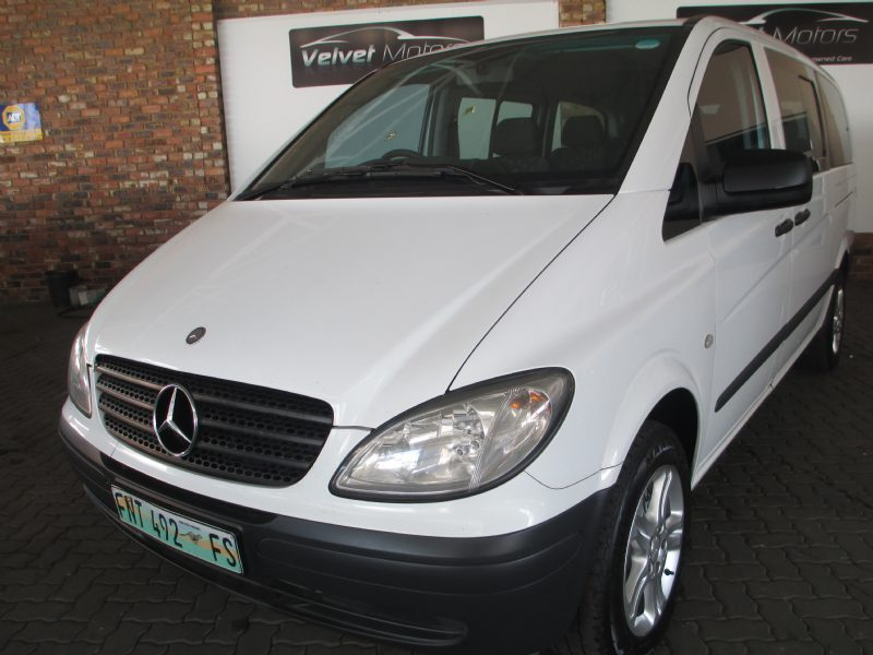 Mercedes-Benz Vito 115 2010 Technical specifications ...