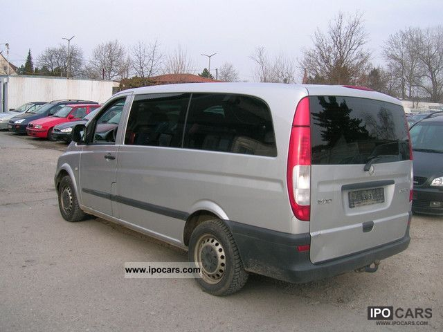 Mercedes-Benz Vito 123 2006 - Technical specifications