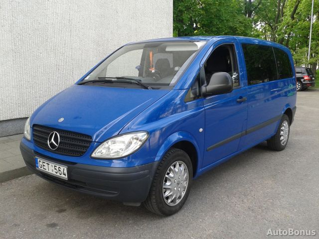 Mercedes-Benz Vito 123 2007 photo - 11
