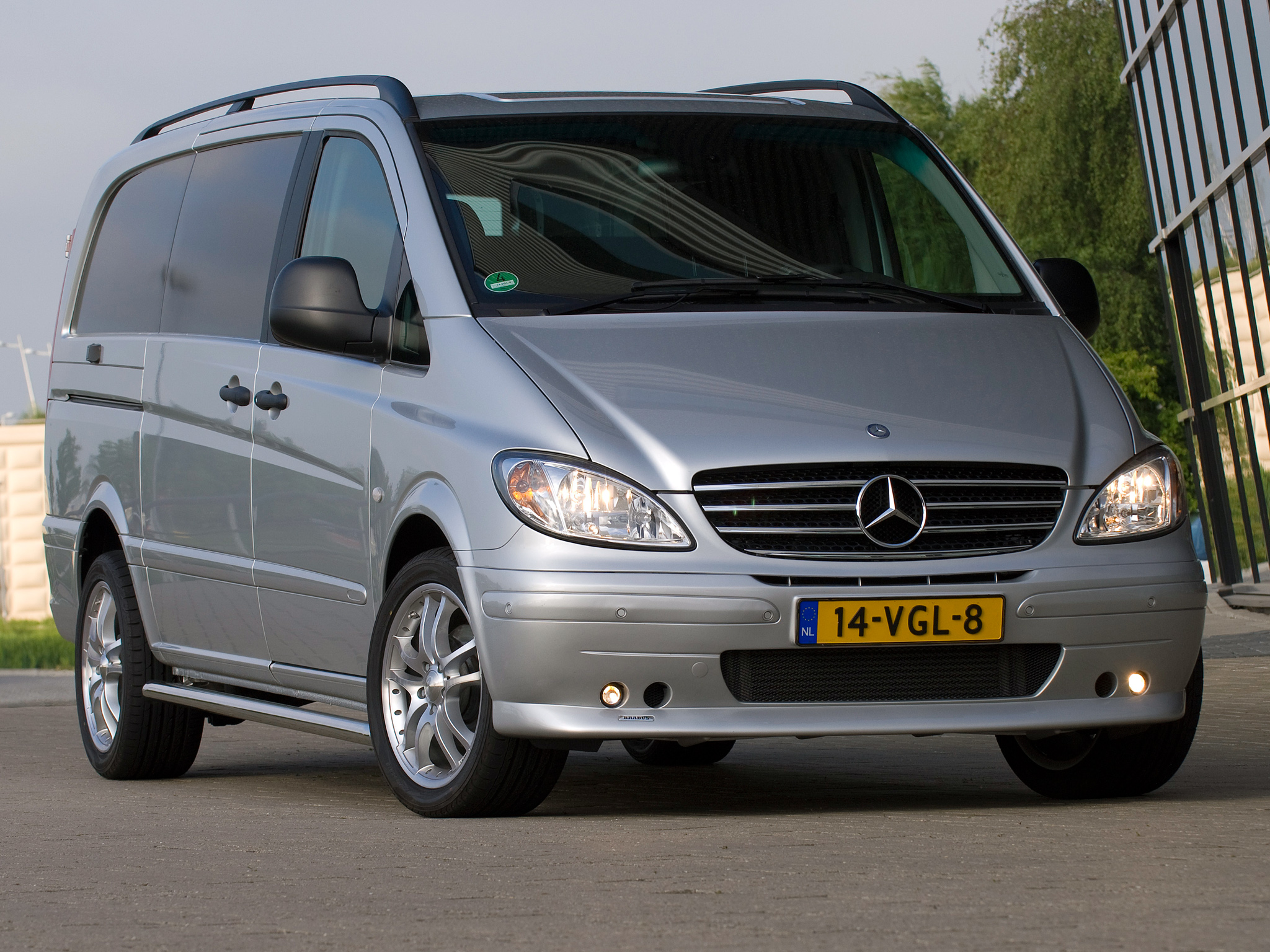 Mercedes-Benz Vito 123 2008 Technical specifications | Interior and Exterior Photo