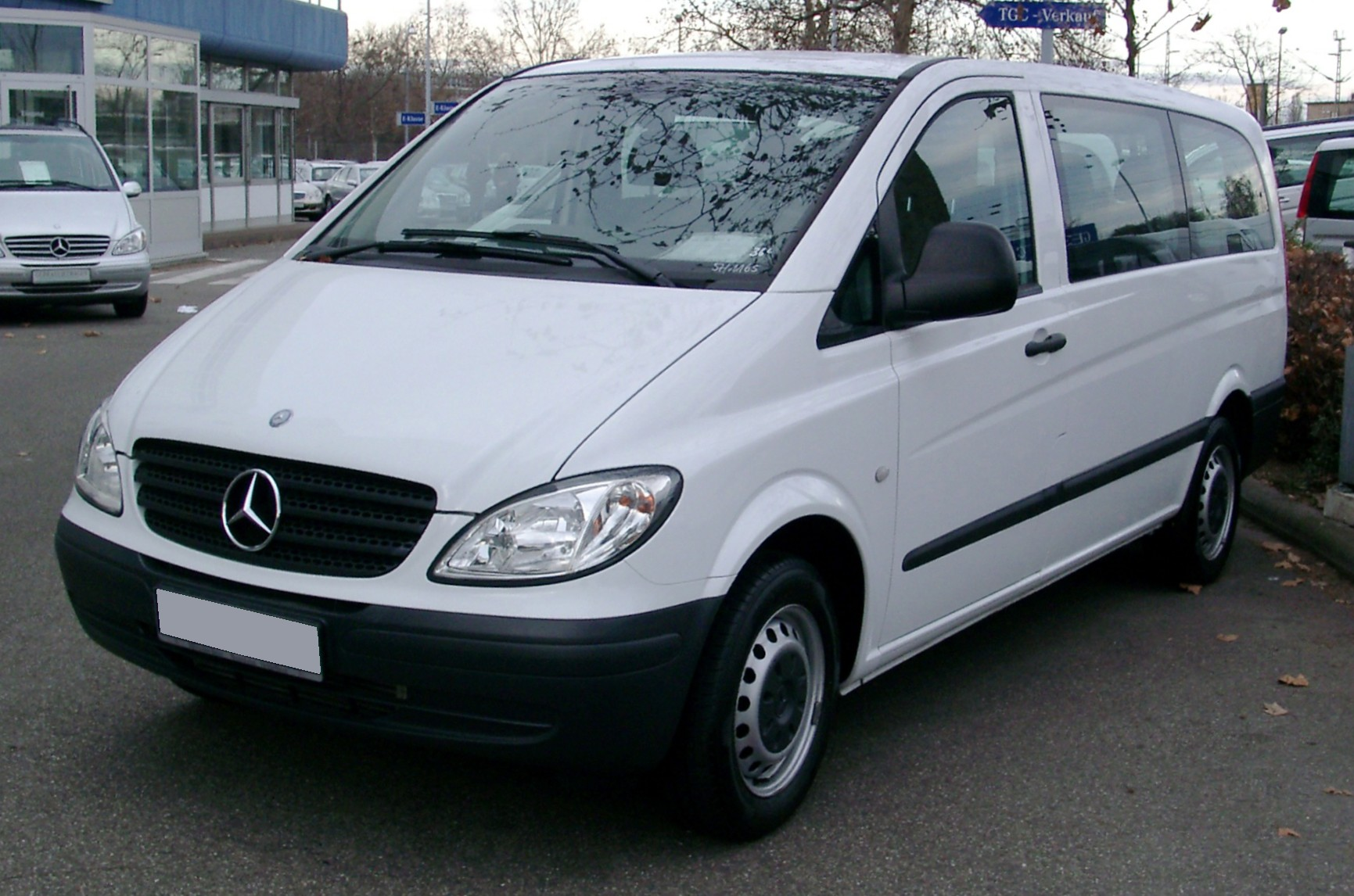 bec83532cd Mercedes-Benz Vito 123 2008 Technical specifications