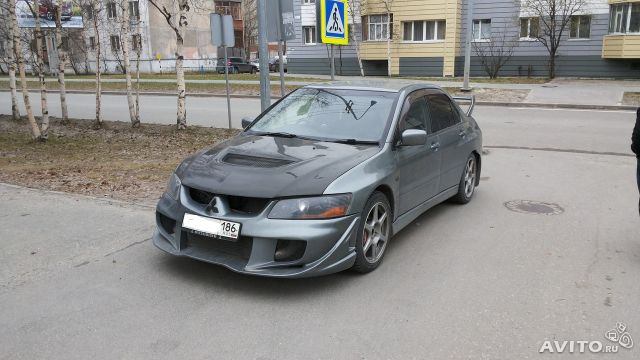 Mitsubishi Lancer Evolution 2.0 2002 photo - 5