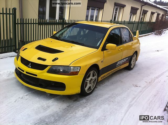 Mitsubishi Lancer Evolution 2.0 2002 photo - 6