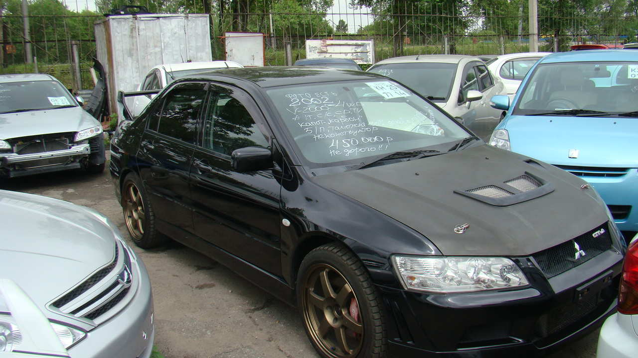 Mitsubishi Lancer Evolution 2.0 2002 photo - 7
