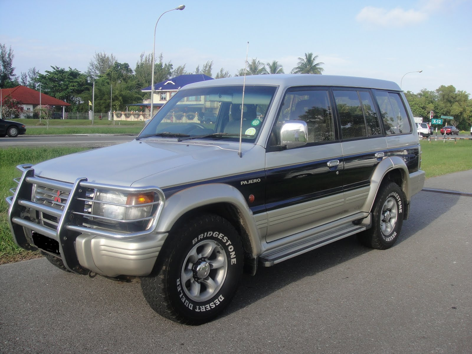 Mitsubishi Pajero Sport 2 5 1994 Technical Specifications