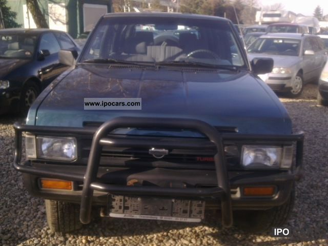 Nissan Cabstar 2.0 1987 photo - 12