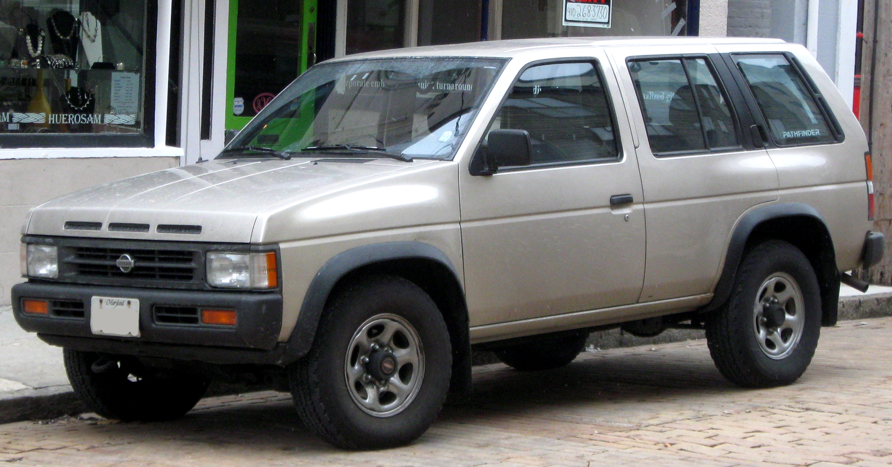 Nissan Pathfinder 2.7 1990 photo - 3