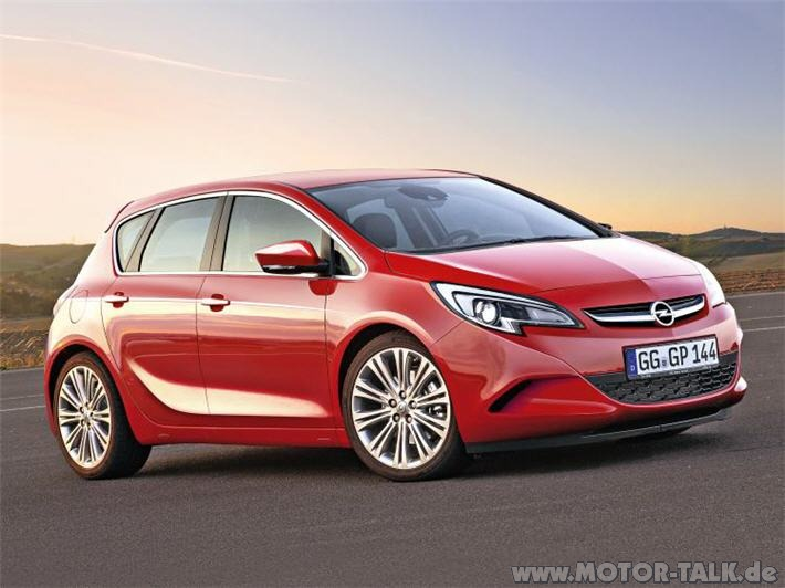 Opel Astra 1.2 2013 photo - 11