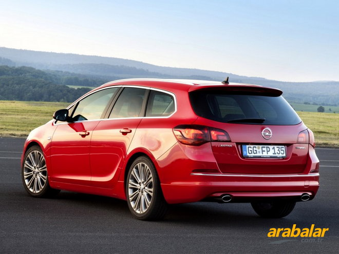 Opel Astra 1.3 2014 photo - 12