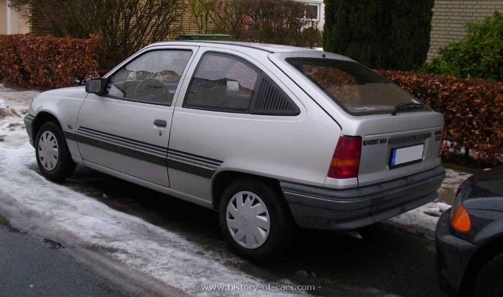 Opel Astra 1.6 1989 photo - 2