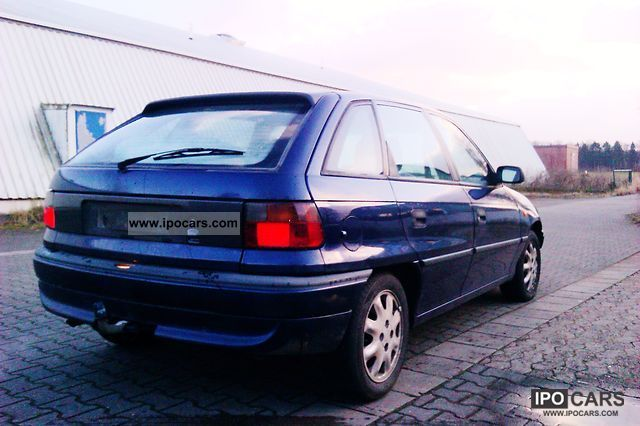 Opel Astra 1.6 1997 photo - 1