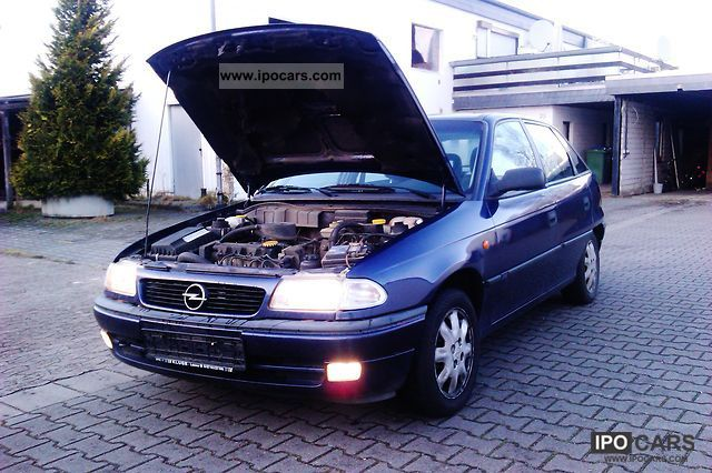 Opel Astra 1.6 1997 photo - 6
