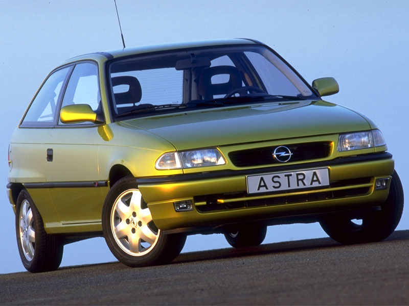 Opel Astra 1.6 1997 photo - 7
