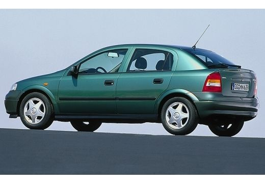 Opel Astra 1.6 1998 photo - 11