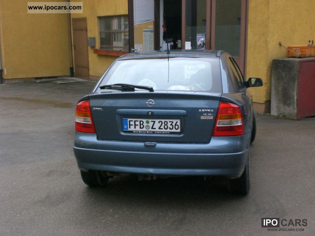 Opel Astra 1.6 1998 photo - 6