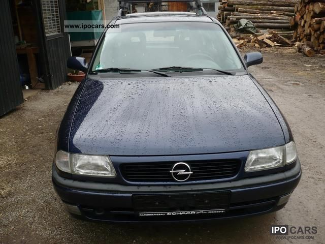 Opel Astra 1.6 1998 photo - 9