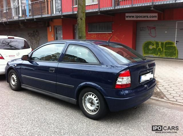 Opel Astra 1.6 1999 photo - 1
