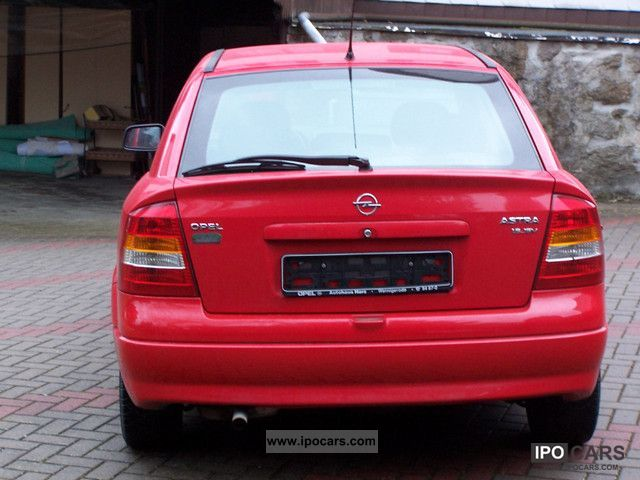 Opel Astra 1.6 1999 photo - 7