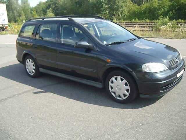Opel Astra 1.7 1998 photo - 12
