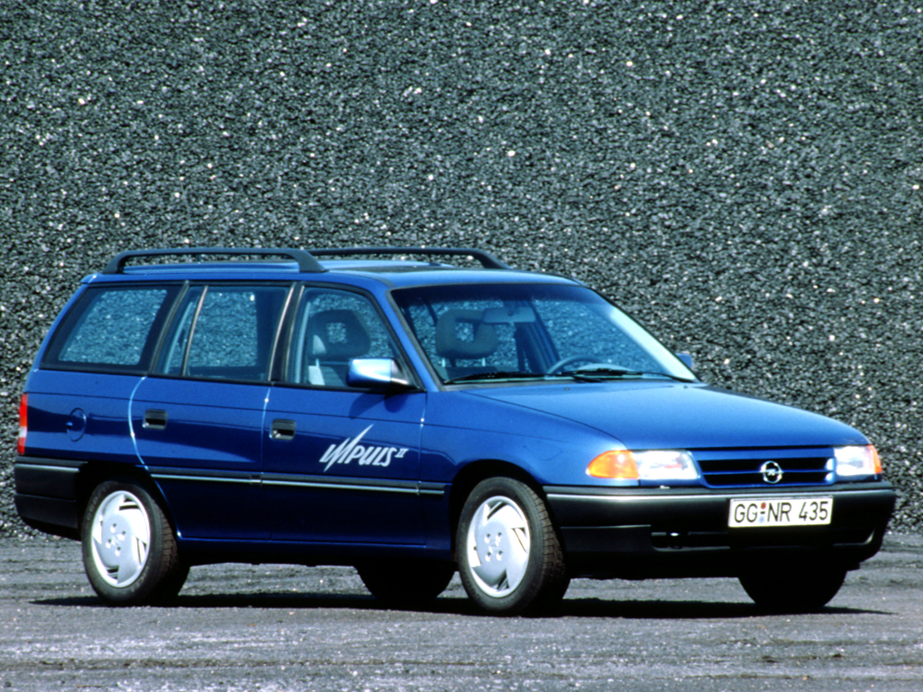 Opel Astra 1.8 1992 photo - 8