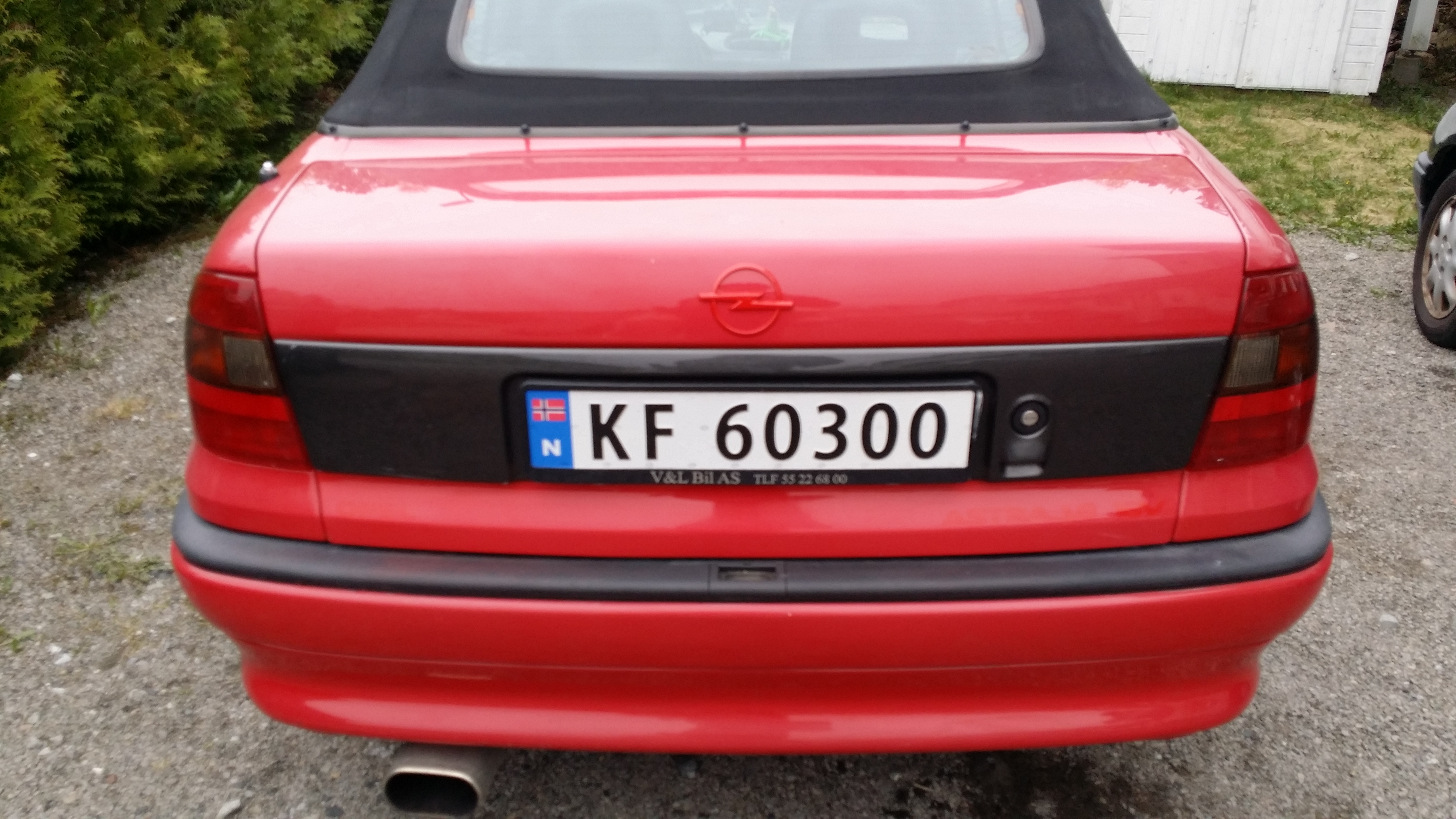 Opel Astra 1.8 1996 photo - 3