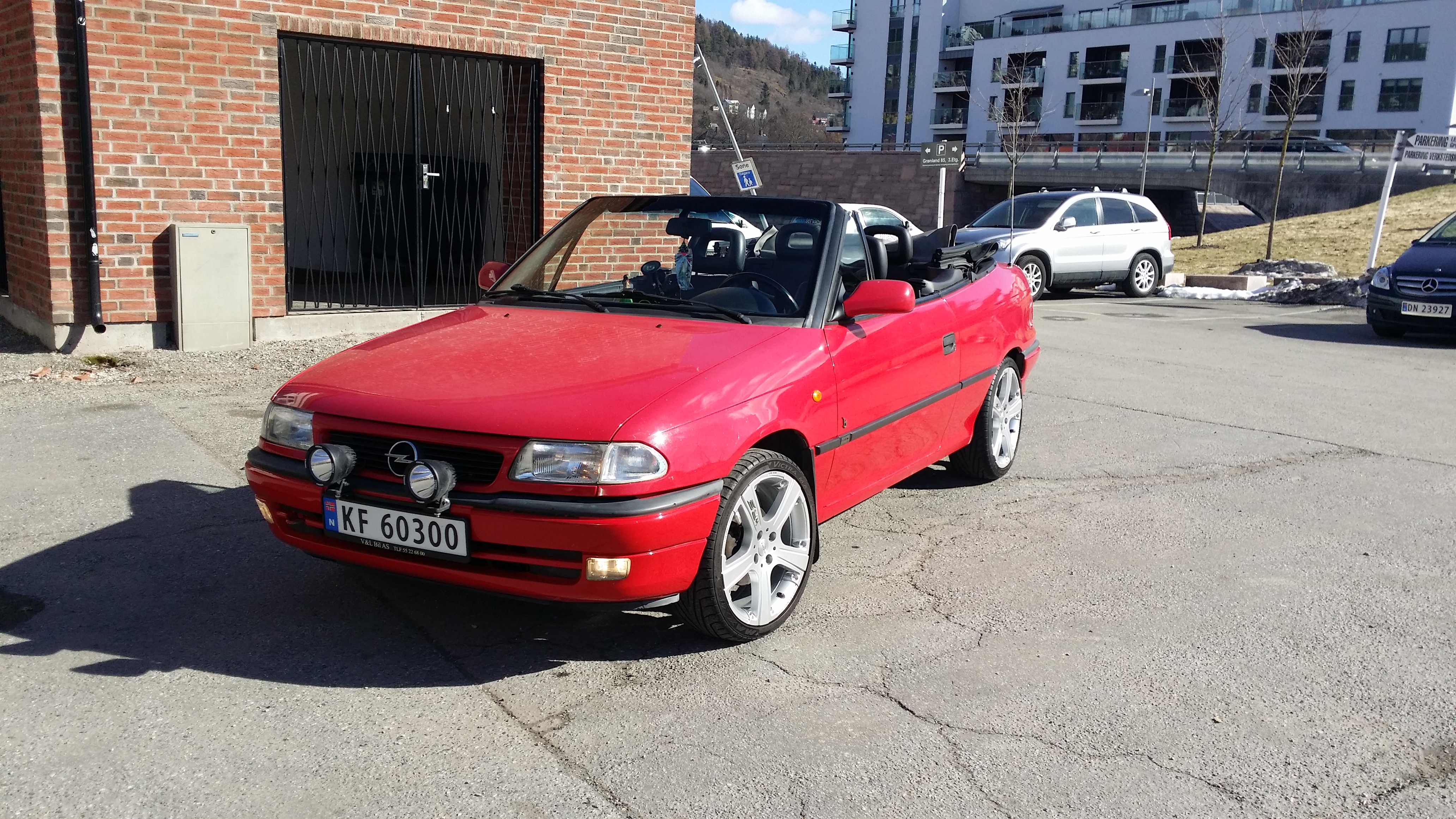 Opel Astra 1.8 1996 photo - 6