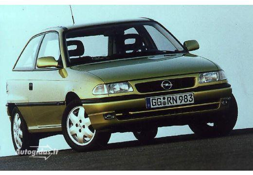 Opel Astra 1.8 1996 photo - 9