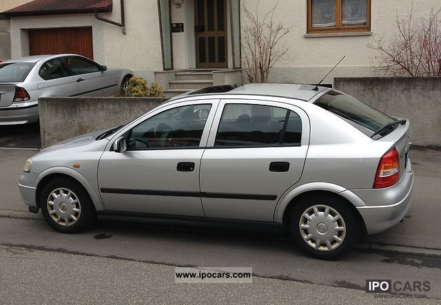 Opel Astra 1.8 1998 photo - 11