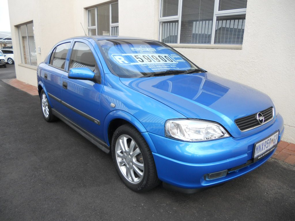 Opel Astra 2.0 2001 photo - 1