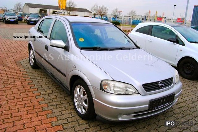 Opel Astra 2.0 2001 photo - 3
