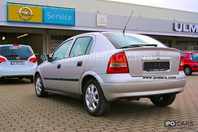 Opel Astra 2.0 2001 photo - 6