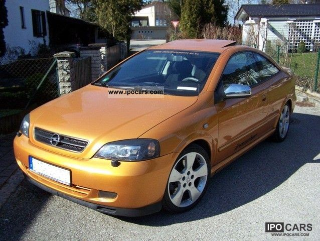 Opel Astra 2.0 2002 photo - 11
